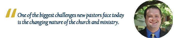 Derek Davenport, Preacher and Director of Enrollment at Pittsburgh Theological Seminary